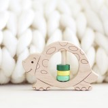 Turtle Wooden Rattle