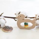 Duck Wooden Rattle