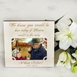 Personalised Memorial Photo Frame