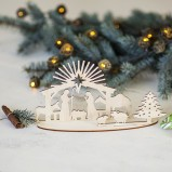 Christmas Nativity Decoration Set