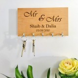 Mr & Mrs Personalised Key Organiser