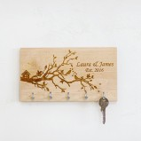 Birds Nest Personalised Key Organiser