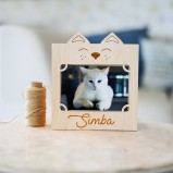 Personalised Your Cat Photo Frame