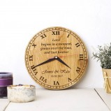 Personalised Clock Custom order